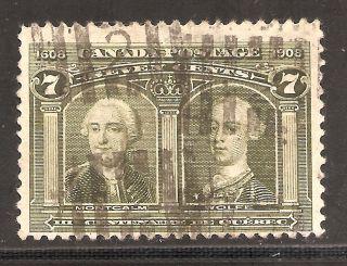 Quebec Tercent.  Montcalm & Wolfe 7 Cents 100 photo