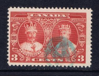 Canada 213 (4) 1935 3 Cent King George V & Queen Mary Blue