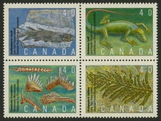 Canada 1309a Fossils,  Prehistoric Life photo
