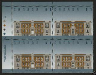 Canada 1375 Tl Block (slight Crease) Architecture photo