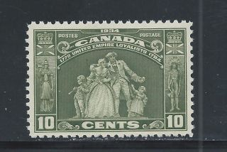 The Loyalists 10 Cents Olive Green 209 Nh photo