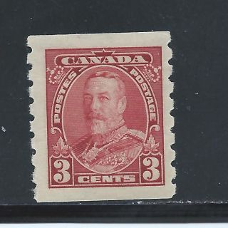 King George V Pictorial Coil 3 Cents 230 Nh photo
