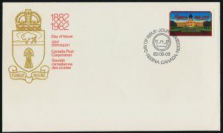 Canada 967 Fdc - Regina Centenary,  Architecture photo