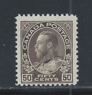 King George V Admiral 50 Cents Brown 120 Nh photo