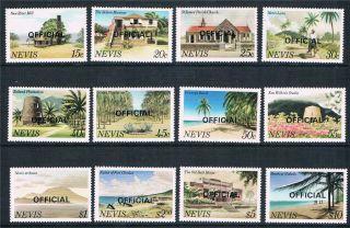 Nevis 1981 Scenes Officials Sg 011/022 photo