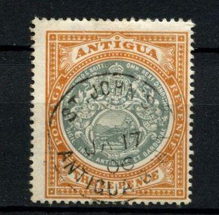 Antigua 1903 - 7 Sg 35,  3d Grey - Green And Orange - Brown A56727 photo