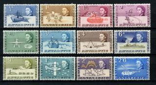 British Antarctic Territory 1963 Sg 1 - 12 1/2d - 2s6d Qeii Definitives A26208 photo