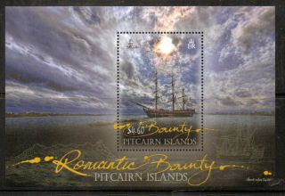 Pitcairn Islands 2012 Bounty M/sheet photo