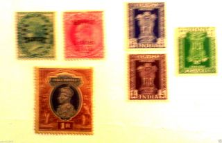 India Stamp Selection photo