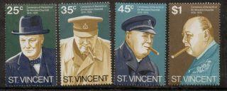 St.  Vincent Sg403/6 1974 Churchill photo