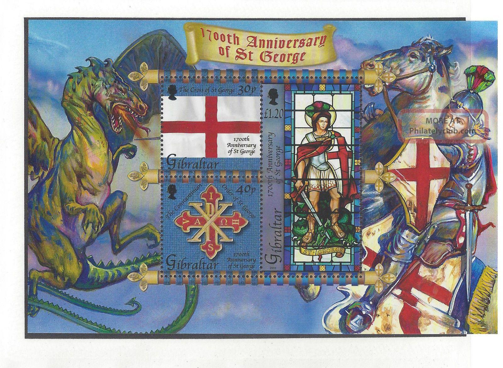 Gibraltar940a Souvenir Sheet British Colonies & Territories photo