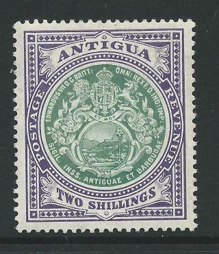 Antigua Sg50 1912 2/= Grey - Green & Violet Mtd photo