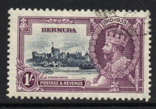 Bermuda Sg97 1935 Silver Jubilee 1/= Fine photo
