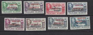 Falkland Islands Graham Land 2l1 - 2l8 Mlh photo