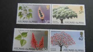 Pitcairn Islands 1983 Sg 242 - 243 - 244 - 245 - - - - Post - - - - - - - - photo