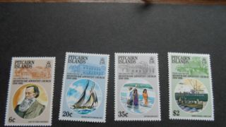 Pitcairn Islands 1986 Sg 292 - 293 - 294 - 295 - - - - - Post - - - - - - - - photo
