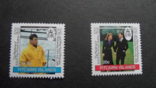 Pitcairn Islands 1986 Sg 290 - 291 - - - - Post - - - - - - - - photo