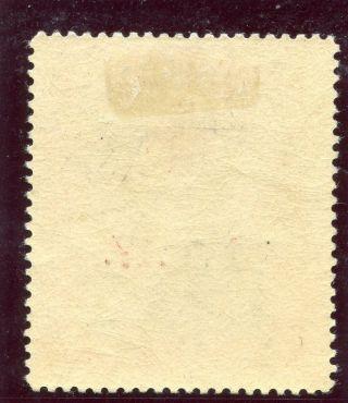 Bahamas 1917 Kgv 1d Grey - Black & Deep Carmine - Red Mlh.  Sg 90a Sc B1. . photo