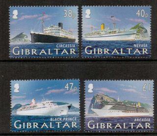Gibraltar Sg1134/7 2005 Cruise Ships photo