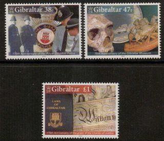 Gibraltar Sg1139/41 2005 Anniversaries photo