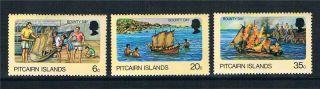 Pitcairn Is 1978 Bounty Days Sg 185/7 photo