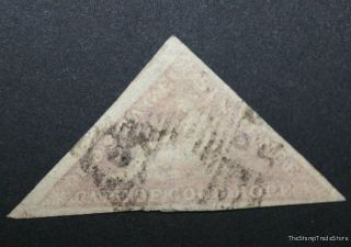 Cape Of Good Hope Cgh Triangular Triangle Stamp Sg7b Rose Lilac C31 photo