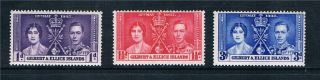 Gilbert & Ellice Is 1937 Coronation Sg 40 - 2 photo