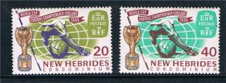 Hebrides 1966 World Cup Football Sg 118 - 9 photo