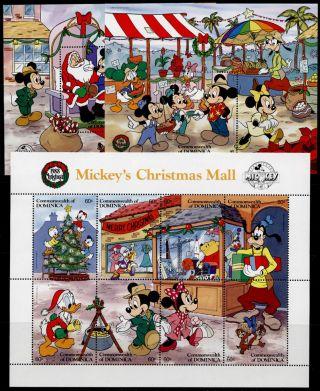 Dominica 1131 - 3 Disney,  Christmas,  Santa photo