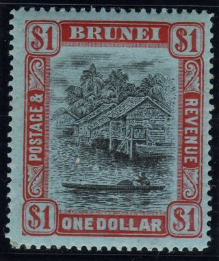 Brunei 1908 1 Dollar photo
