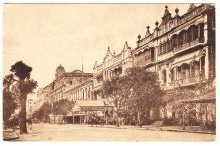 Burma Rangoon Phayre Street Postcard Tavoy To Usa 1920 India Stamp Cover photo