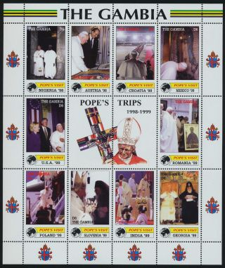 Gambia 2228 Pope John Paul Ii,  Papal Visits,  Nigeria photo