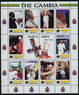 Gambia 2226 Pope John Paul Ii,  Papal Visits,  South Africa photo