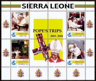 Sierra Leone 2838 Pope John Paul Ii photo