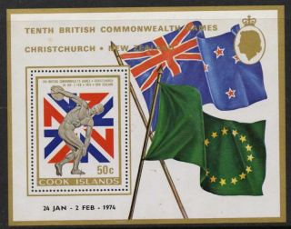 Cook Islands 377 Mh Sports,  Flags,  Commonwealth Games photo