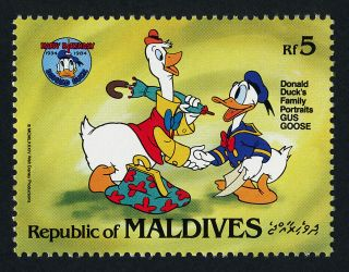 Maldives 1045a Disney,  Donald Duck 50th Birthday photo