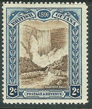 British Guiana 1898 Brown/indigo 2c Sg217 photo