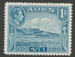 Aden Sg18 1939 1a Pale Blue Mtd photo