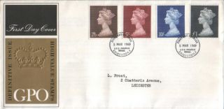 1969 High Value Defin Fdc Sp Pmks Lovely photo