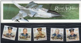 Qeii Presentation Pack No 175 Raf 1986 photo
