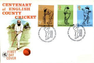 16 May 1973 County Cricket Wessex First Day Cover Lords London Nw Shs photo