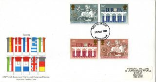 15 May 1984 Europa Royal Mail First Day Cover Birmingham Fdi photo