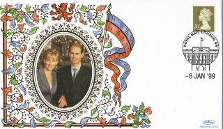 6 January 1999 Edward & Sophie Engagement Benham Roy 13 Cover Shs photo