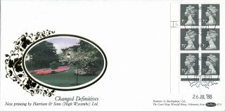 26 July 1988 75p Definitive Value Cyl Benham D73 First Day Cover Windsor Shs photo