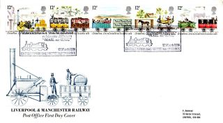 12 March 1980 Liverpool & Manchester Railway Po First Day Cover Haverings Own photo
