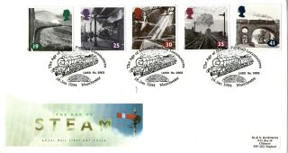 18 January 1994 Age Of Steam Royal Mail First Day Cover Manchester United Shs photo