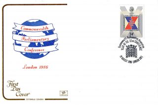 19 August 1986 Commonwealth Conference Cotswold First Day Cover London Sw1 Shs photo