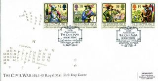 16 June 1992 Civil War Royal Mail First Day Cover History Today Kineton Shs photo