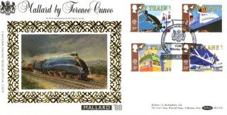 10 May 1988 Transport & Communication Benham Blcs 32 Fdc Nrm York Shs photo