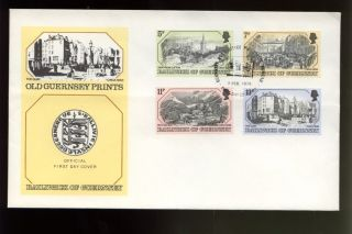 Guernsey 1978 Old Guernsey Prints Fdc photo